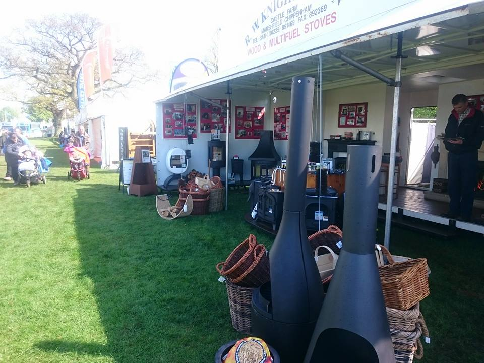 Trade Stands Badminton Horse Trials : Shows r w knight son a family heating business