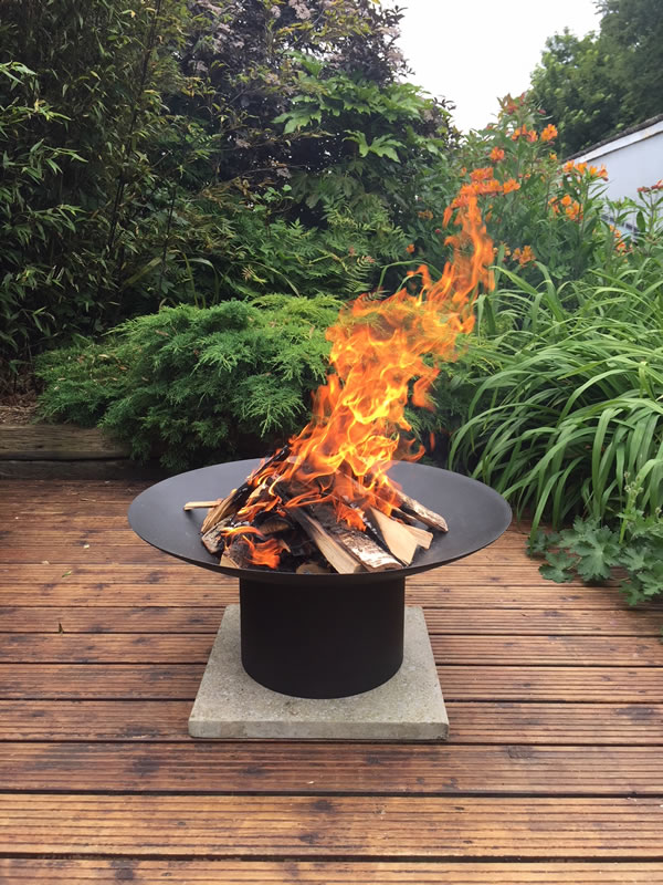 Bespoke firepits from R W Knight and Son