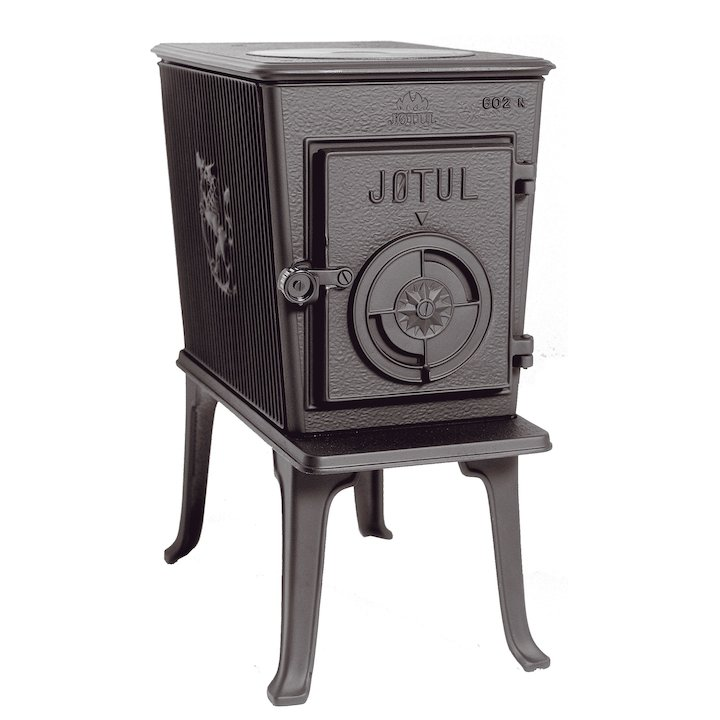 Jotul F6O2 N Solid Door, Reconditioned Image